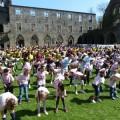 Flash Mob à l'Abbaye de Villers