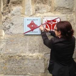 Maubuisson : inauguration de deux plaques