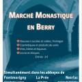 Marché monastique dans les abbayes du Berry