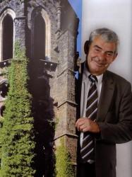 Jacques Cornez, directeur de l'abbaye de Villers
