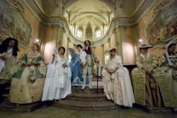 Reconstitution historique à l'abbaye de Parabiago