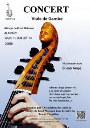 Concert à Koad Malouen