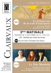 Les Matinales de Clairvaux