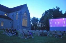 Cinéma à l'abbaye de l'Epau